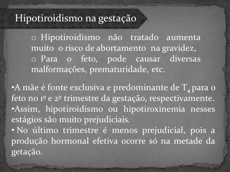 Hipotiroidismo na gestação