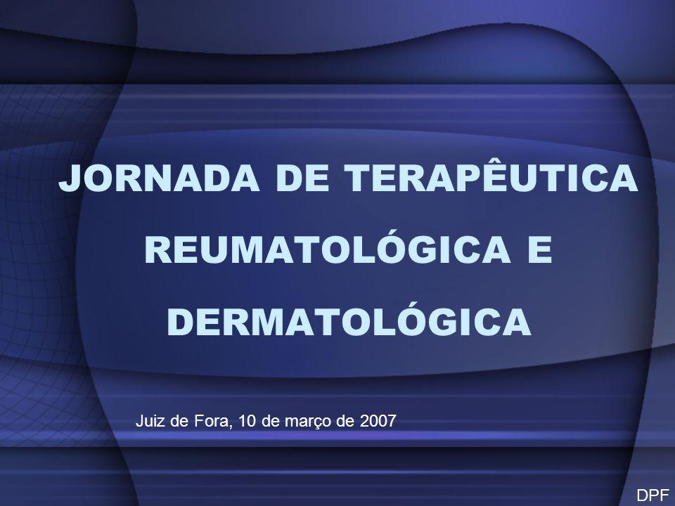 JORNADA DE TERAPÊUTICA REUMATOLÓGICA E DERMATOLÓGICA