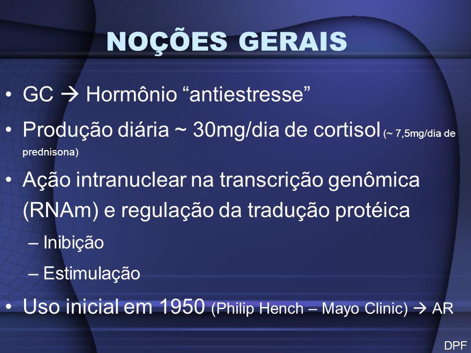 NOÇÕES GERAIS GC  Hormônio antiestresse
