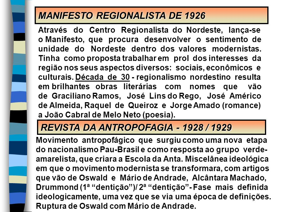 MANIFESTO REGIONALISTA DE 1926