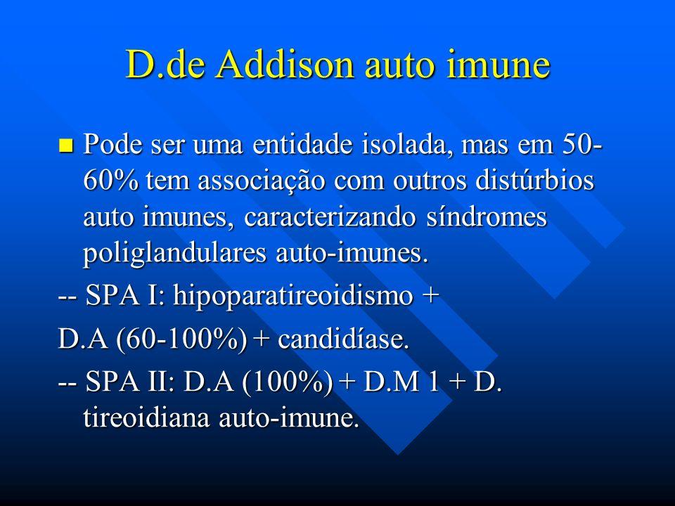 D.de Addison auto imune