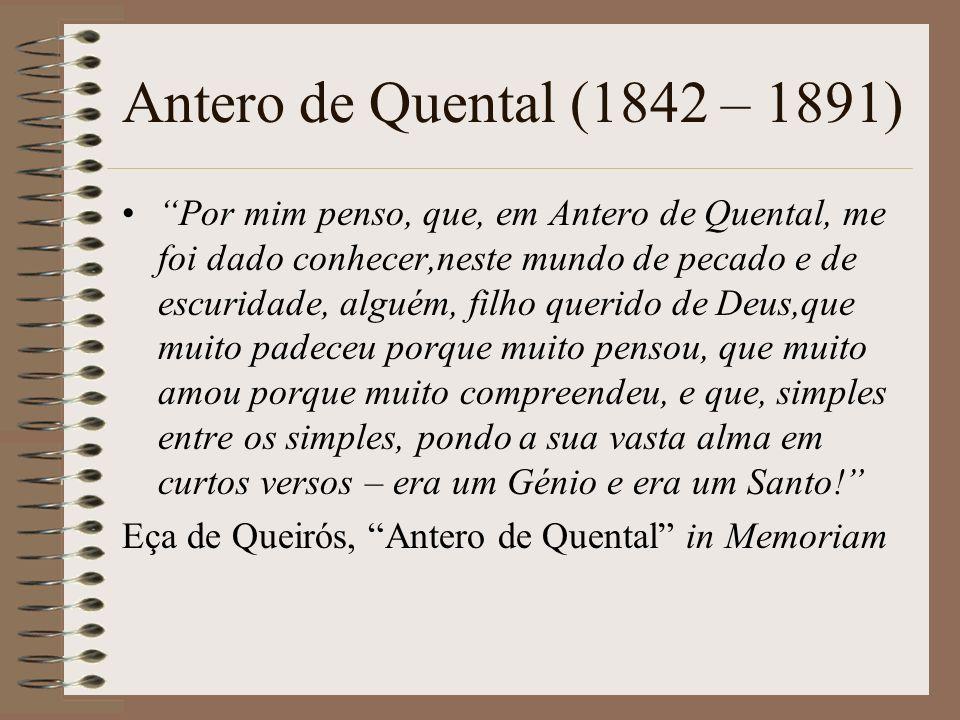 Antero de Quental (1842 – 1891)