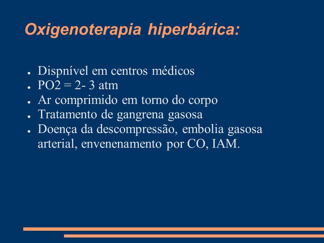 Oxigenoterapia hiperbárica: