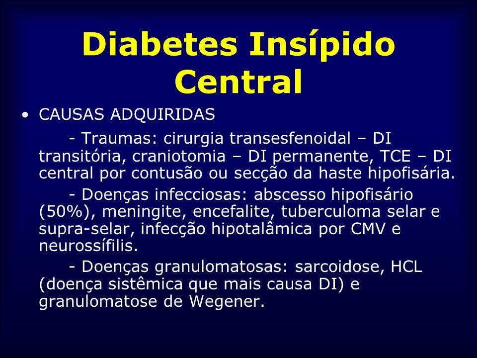 Diabetes Insípido Central