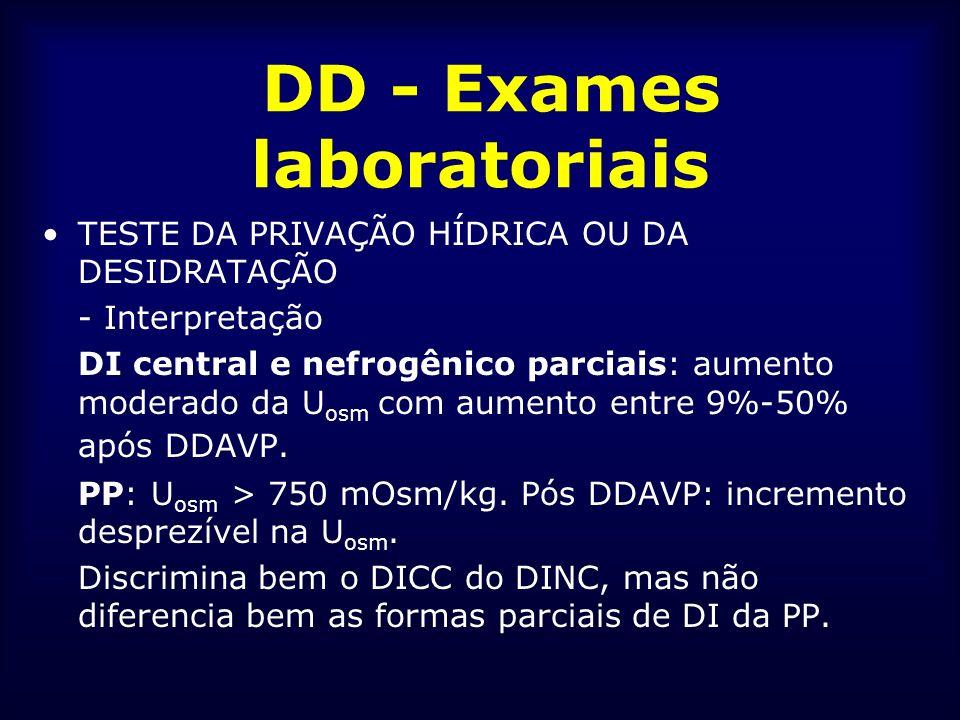 DD - Exames laboratoriais