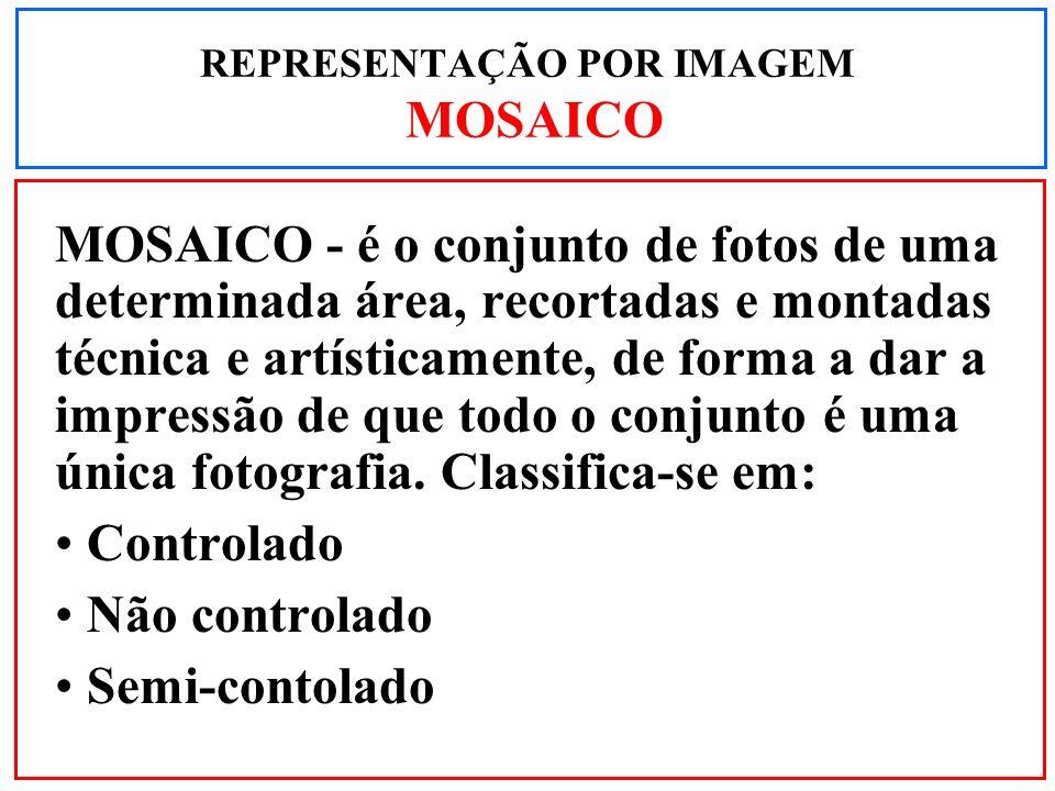 REPRESENTAÇÃO POR IMAGEM MOSAICO