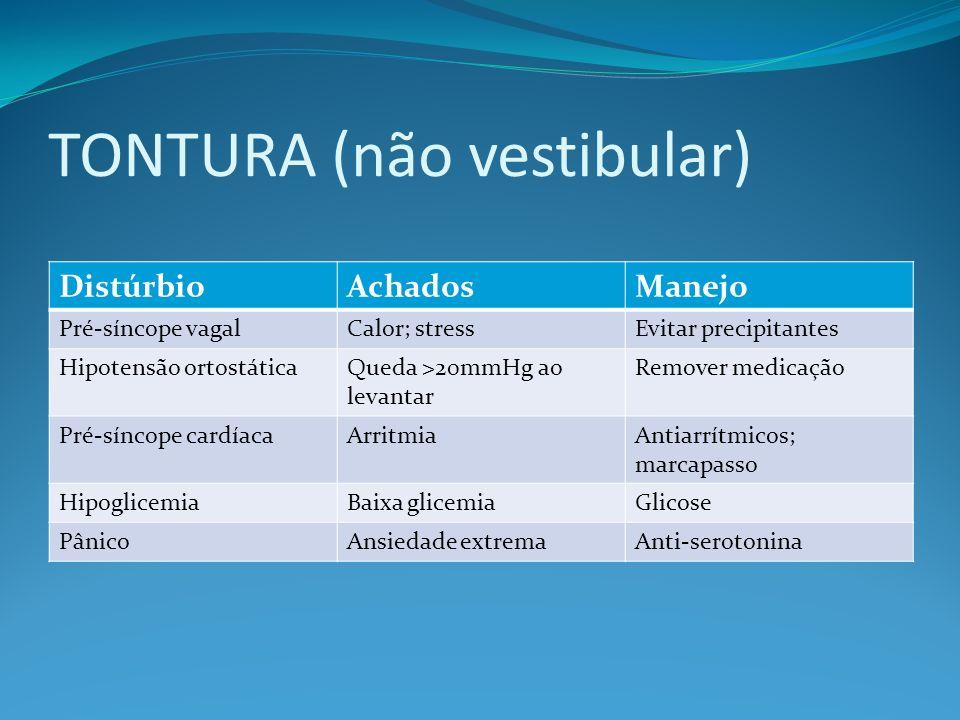 TONTURA (não vestibular)