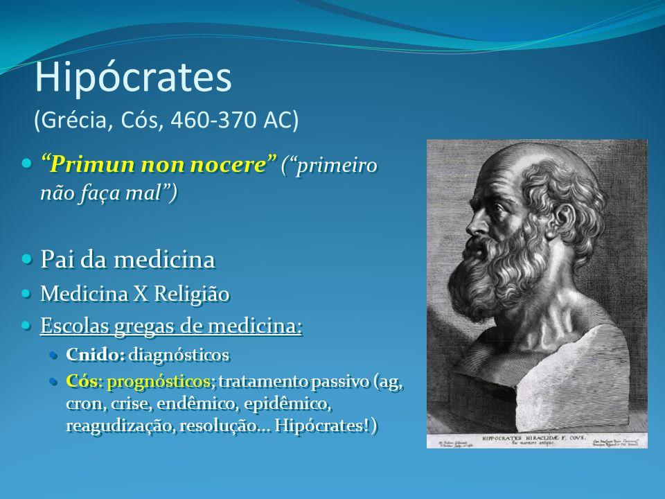 Hipócrates (Grécia, Cós, 460-370 AC)