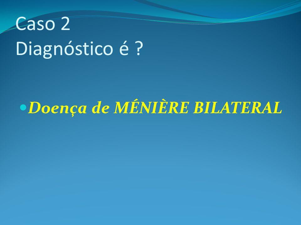 Doença de MÉNIÈRE BILATERAL
