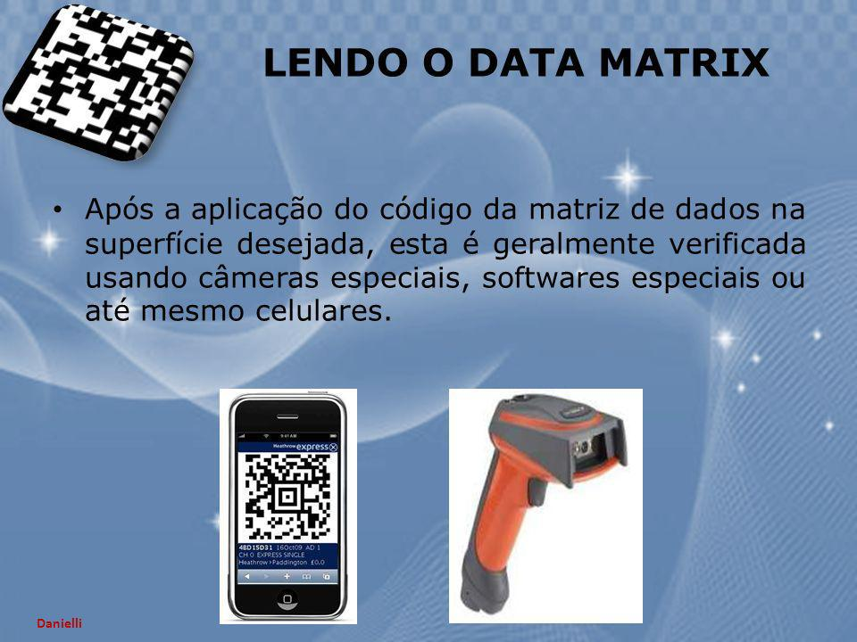 LENDO O DATA MATRIX