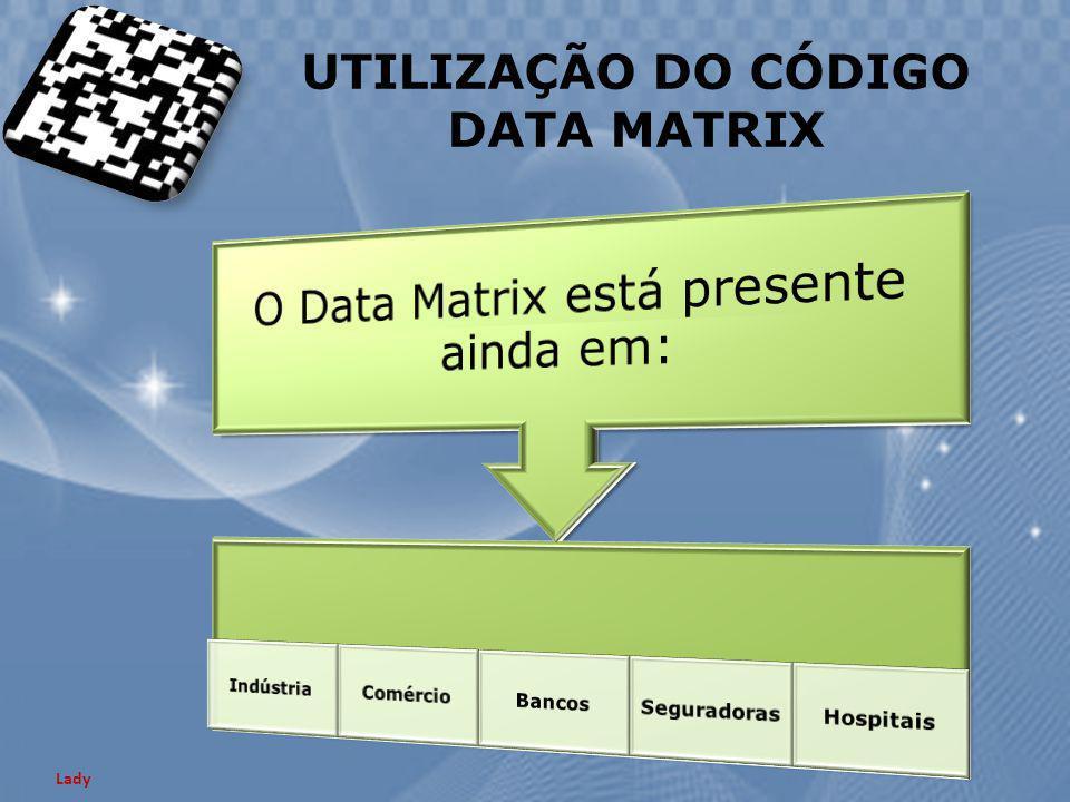 UTILIZAÇÃO DO CÓDIGO DATA MATRIX