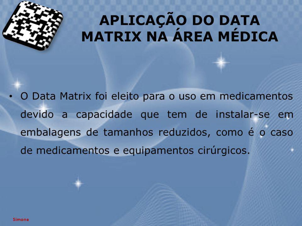 APLICAÇÃO DO DATA MATRIX NA ÁREA MÉDICA