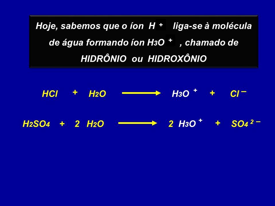 HIDRÔNIO ou HIDROXÔNIO