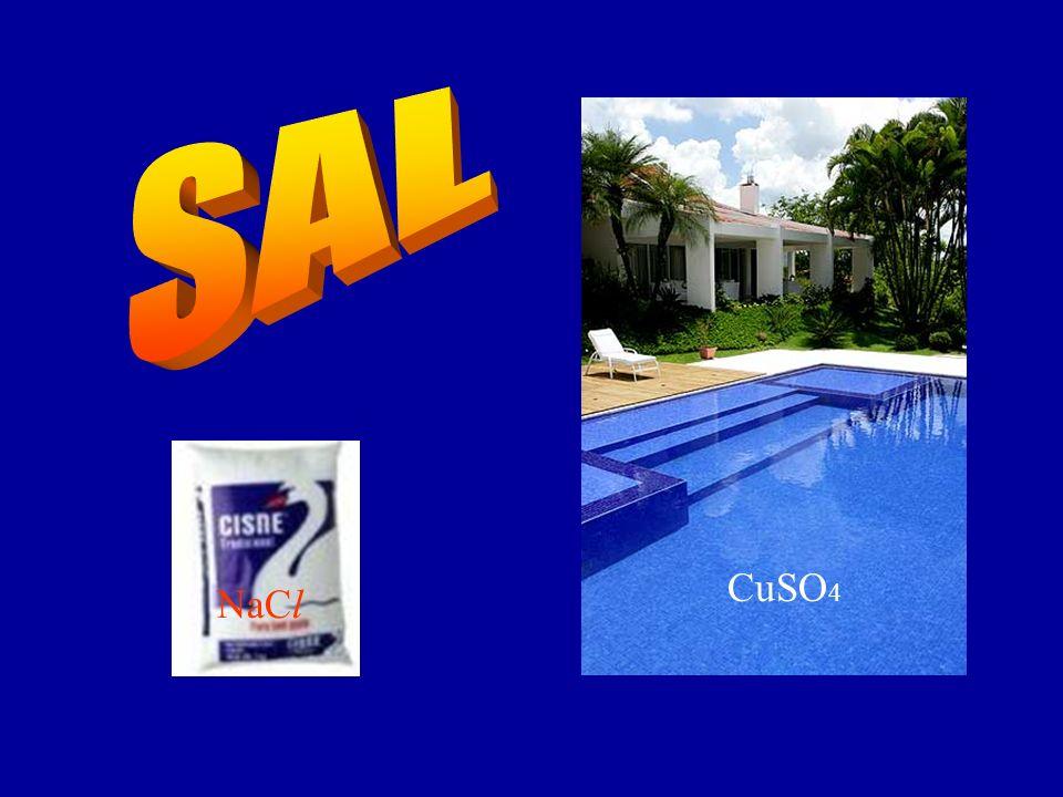 SAL CuSO4 NaCl