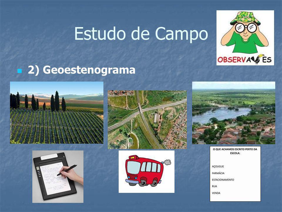 Estudo de Campo 2) Geoestenograma