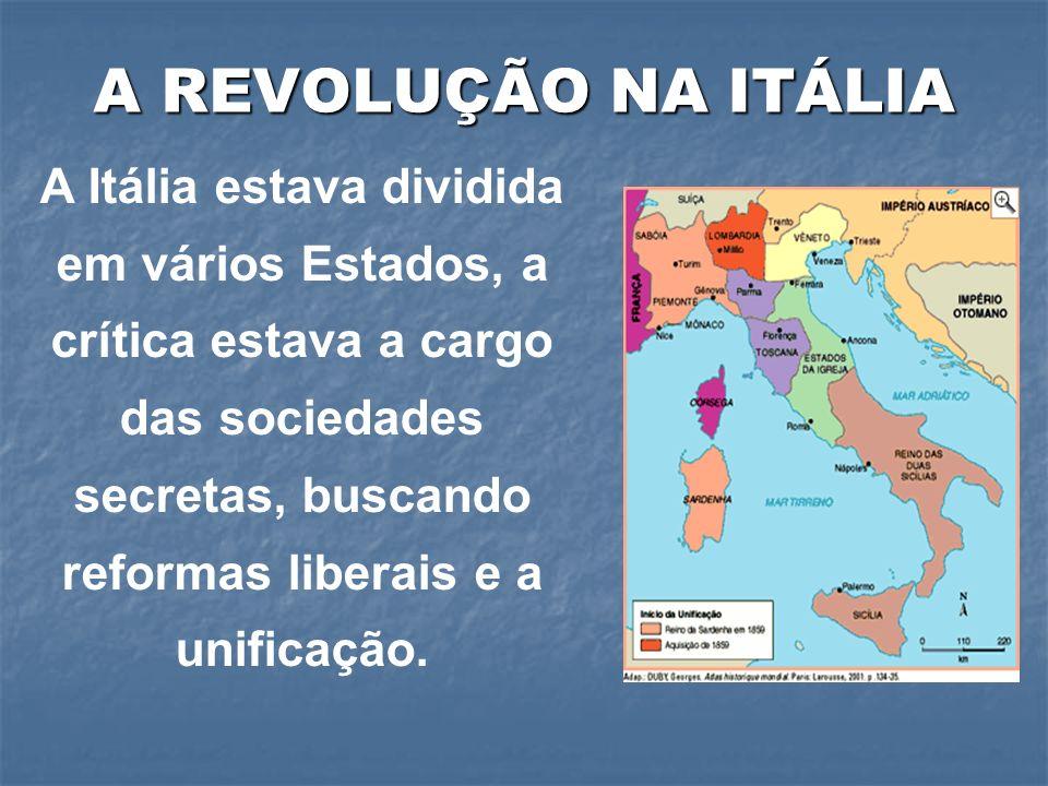 A REVOLUÇÃO NA ITÁLIA