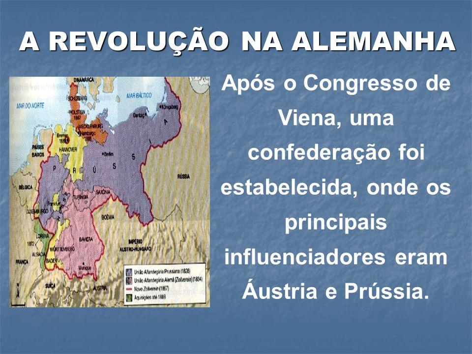A REVOLUÇÃO NA ALEMANHA