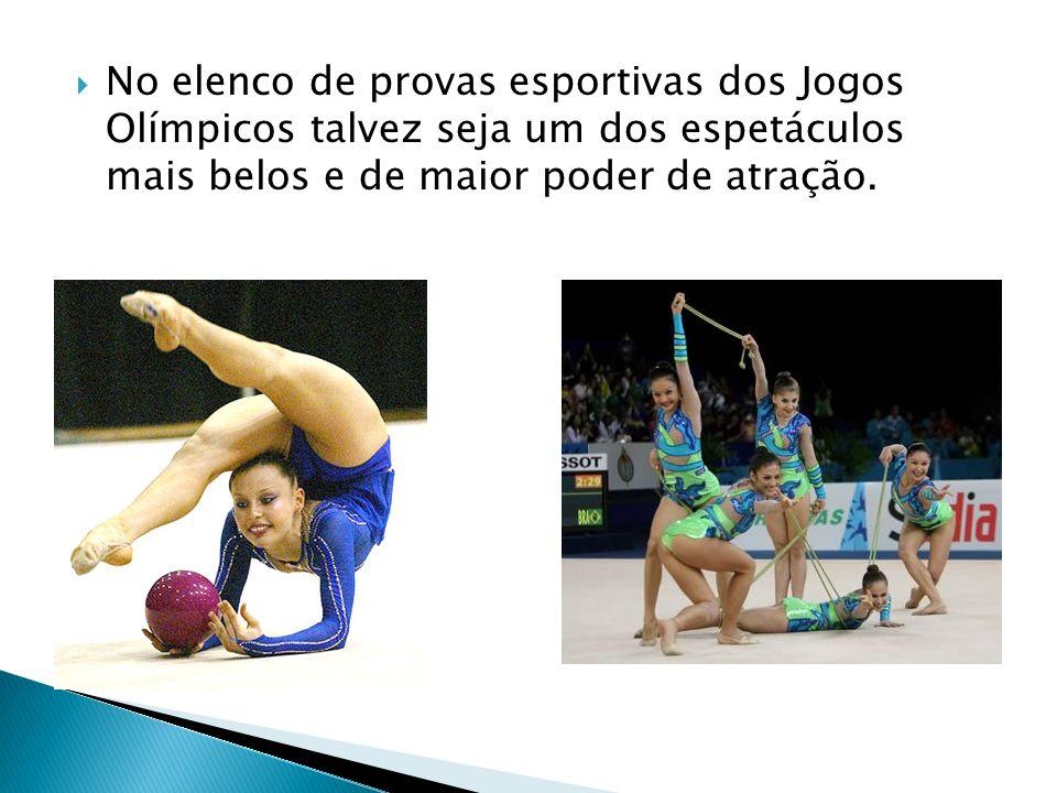 No elenco de provas esportivas dos Jogos Olímpicos talvez seja um dos espetáculos mais belos e de maior poder de atração.