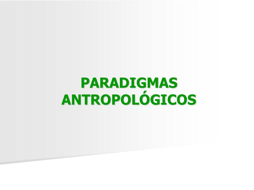 PARADIGMAS ANTROPOLÓGICOS