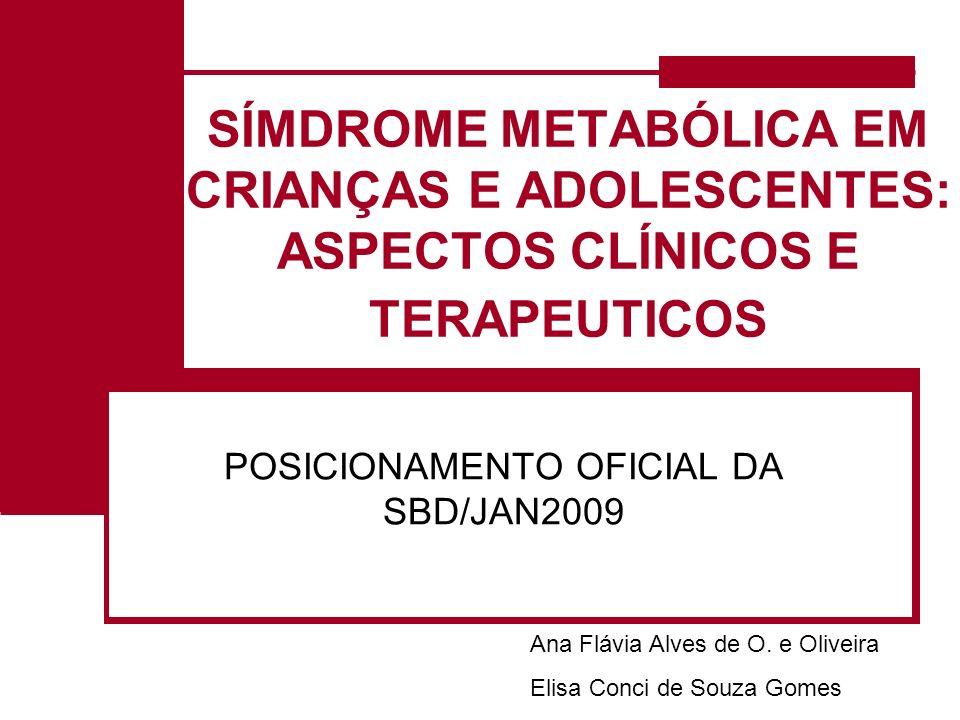 POSICIONAMENTO OFICIAL DA SBD/JAN2009