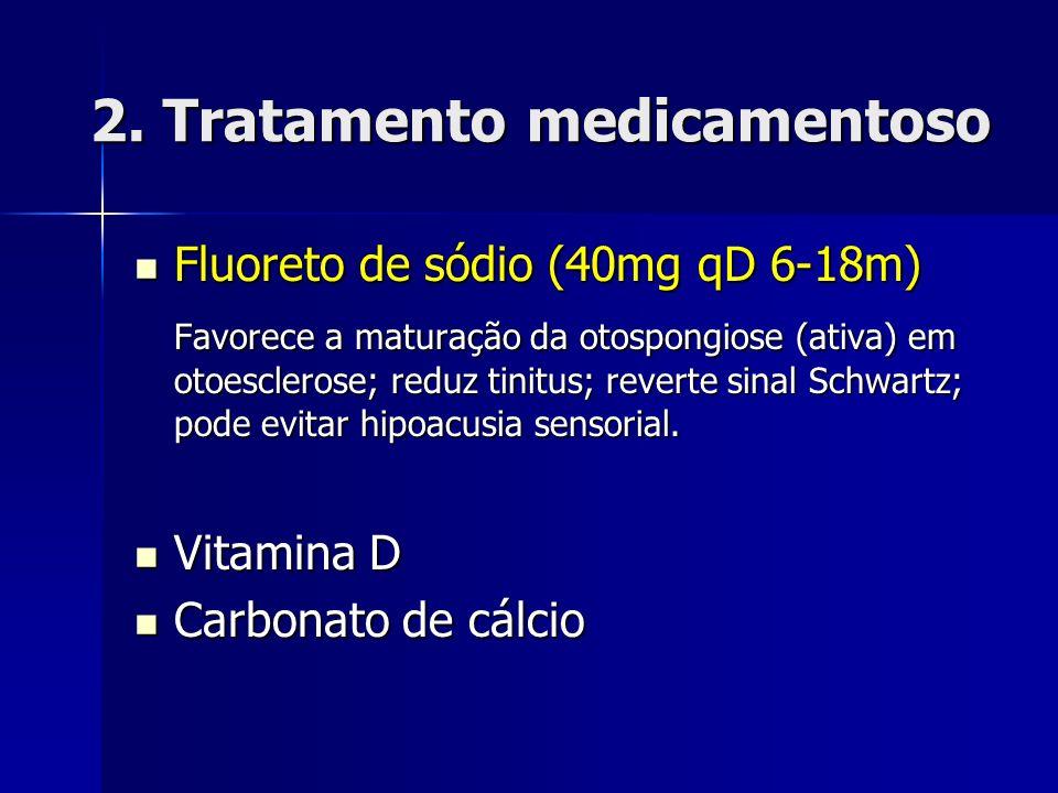 2. Tratamento medicamentoso