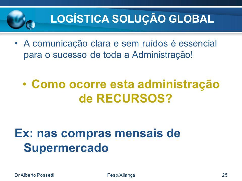 LOGÍSTICA SOLUÇÃO GLOBAL