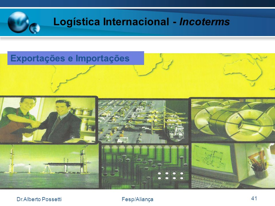 Logística Internacional - Incoterms