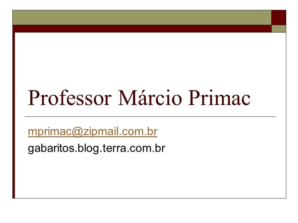 Professor Márcio Primac