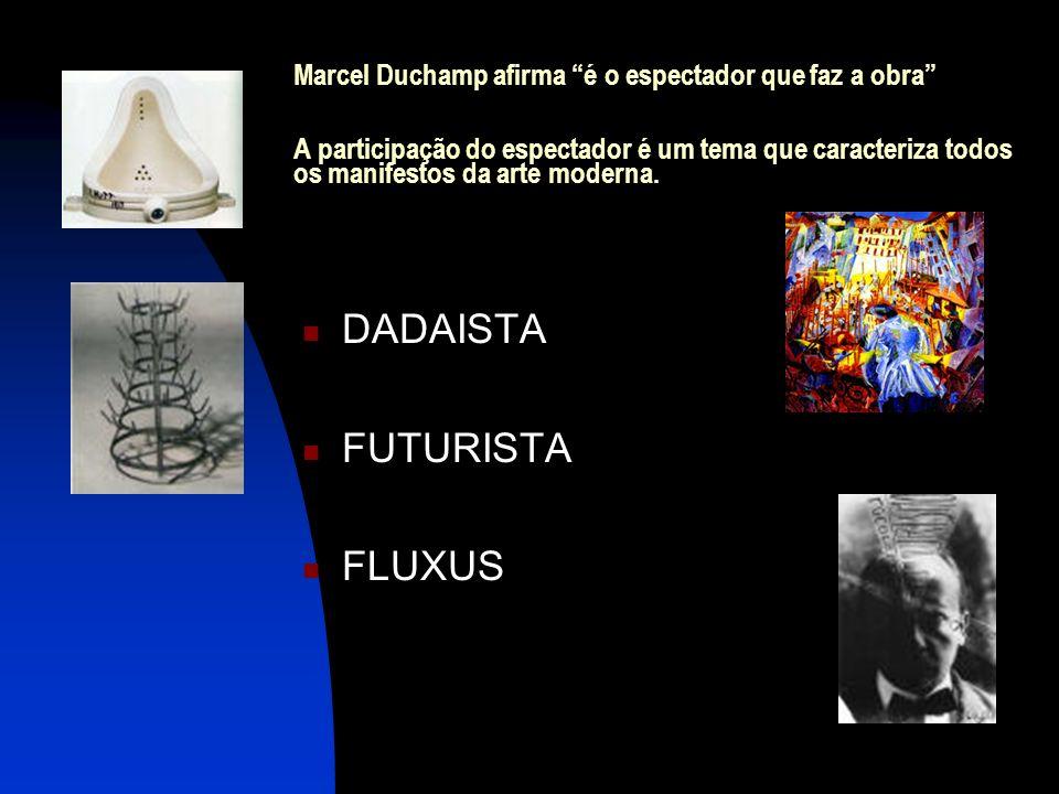 DADAISTA FUTURISTA FLUXUS