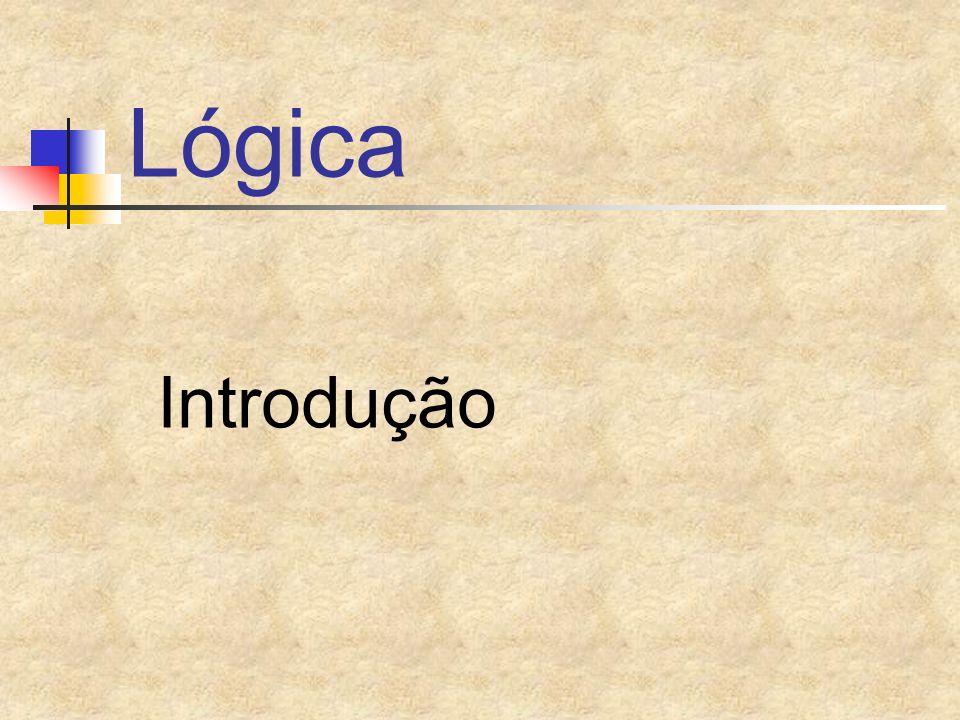 Lógica Introdução