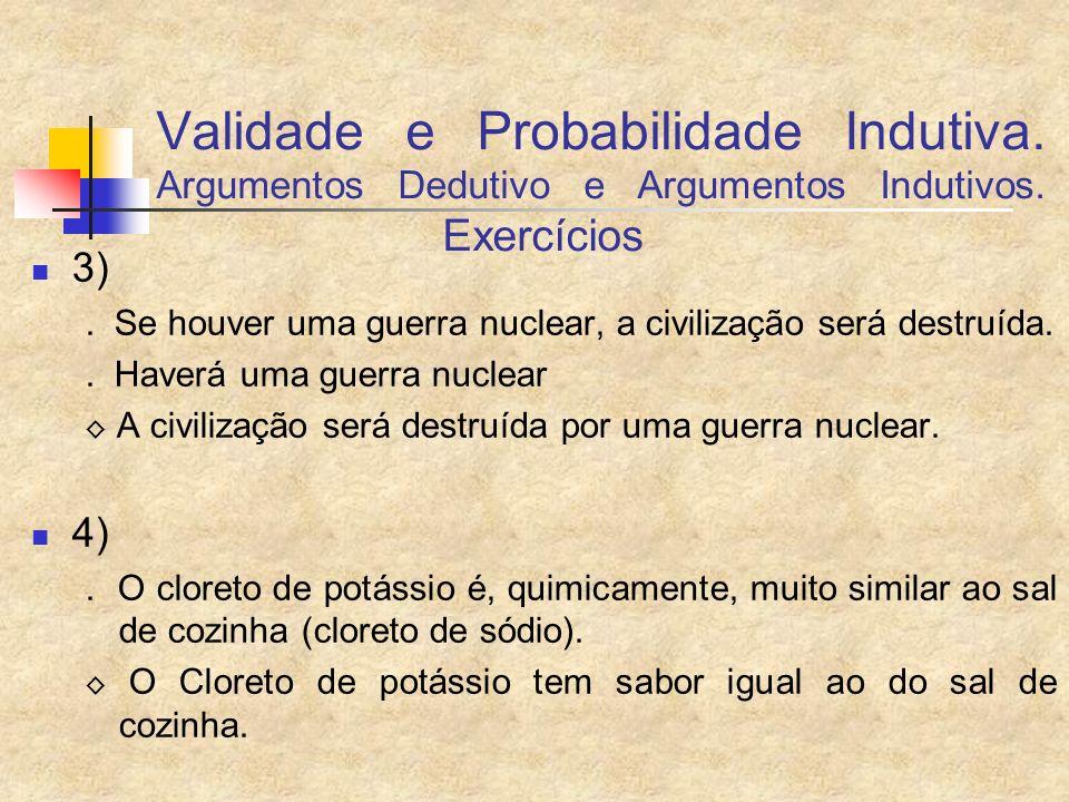 Validade e Probabilidade Indutiva