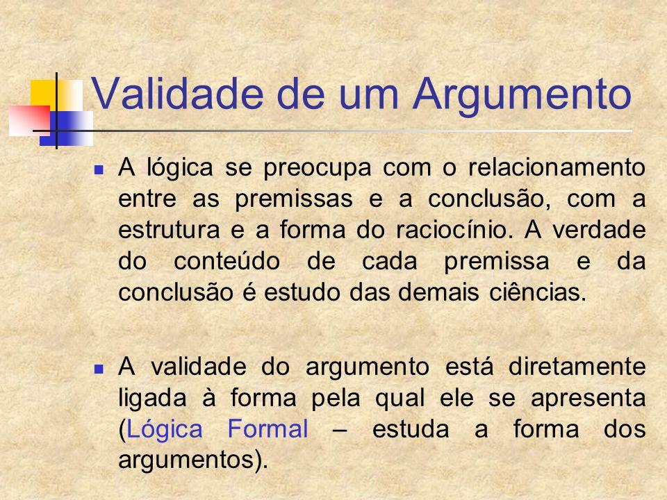 Validade de um Argumento