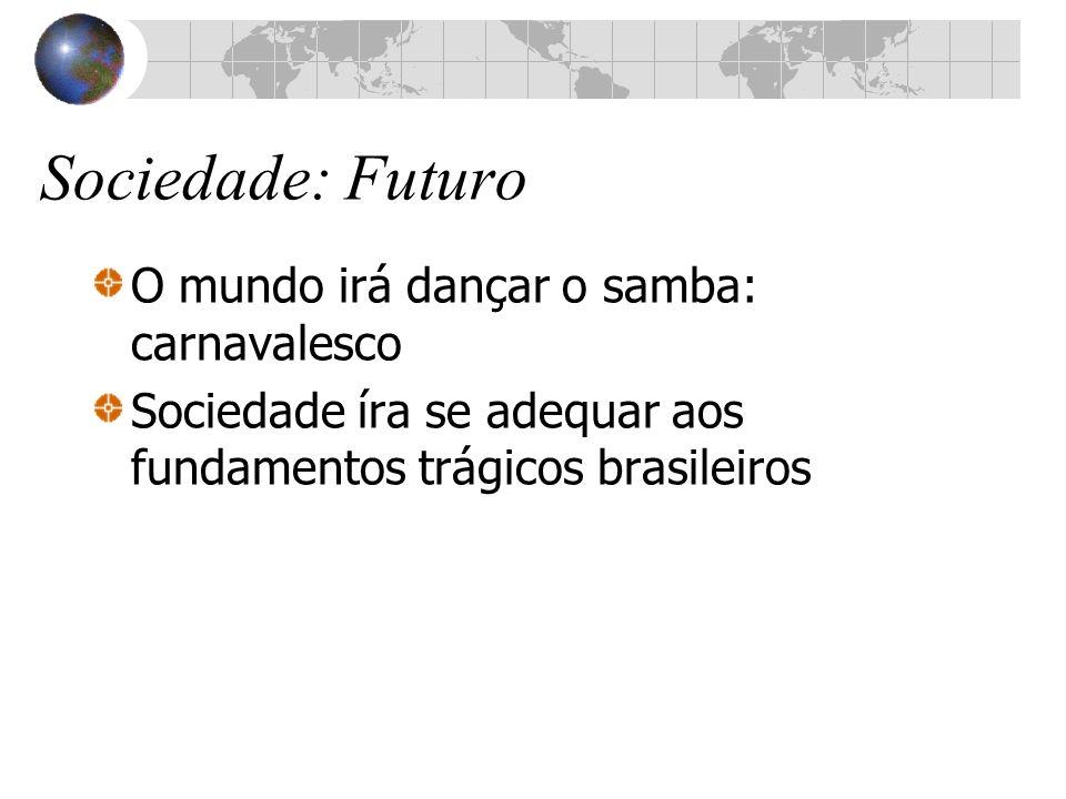 Sociedade: Futuro O mundo irá dançar o samba: carnavalesco