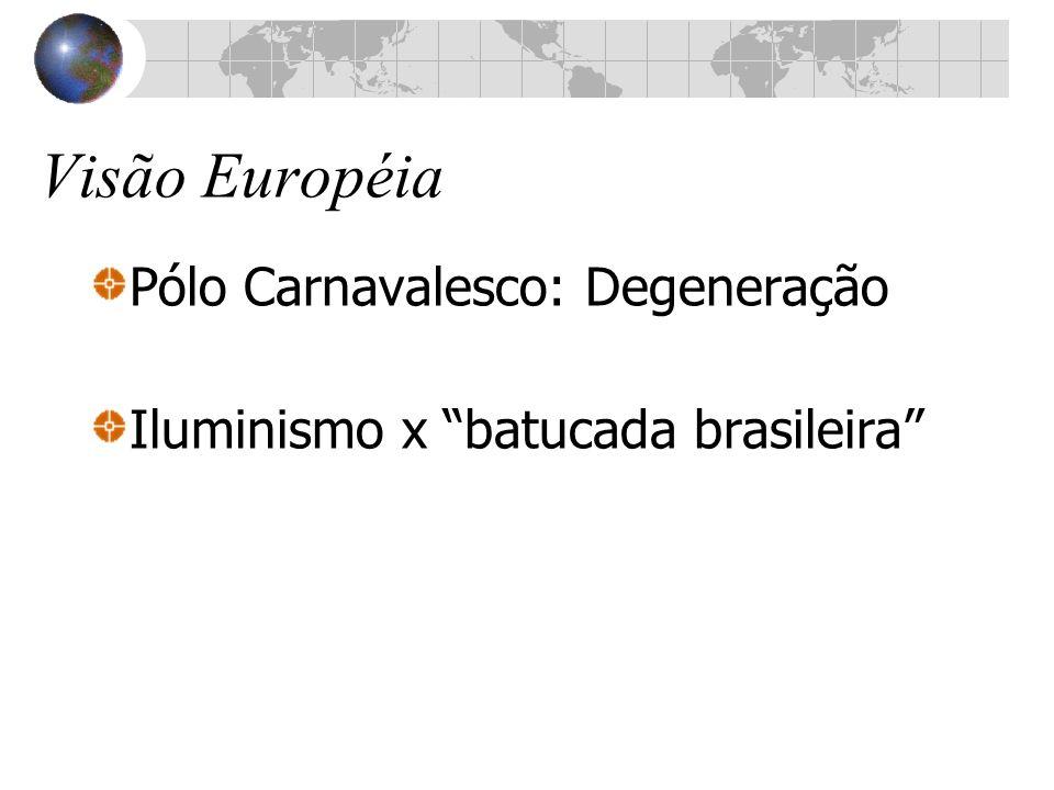 Visão Européia Pólo Carnavalesco: Degeneração