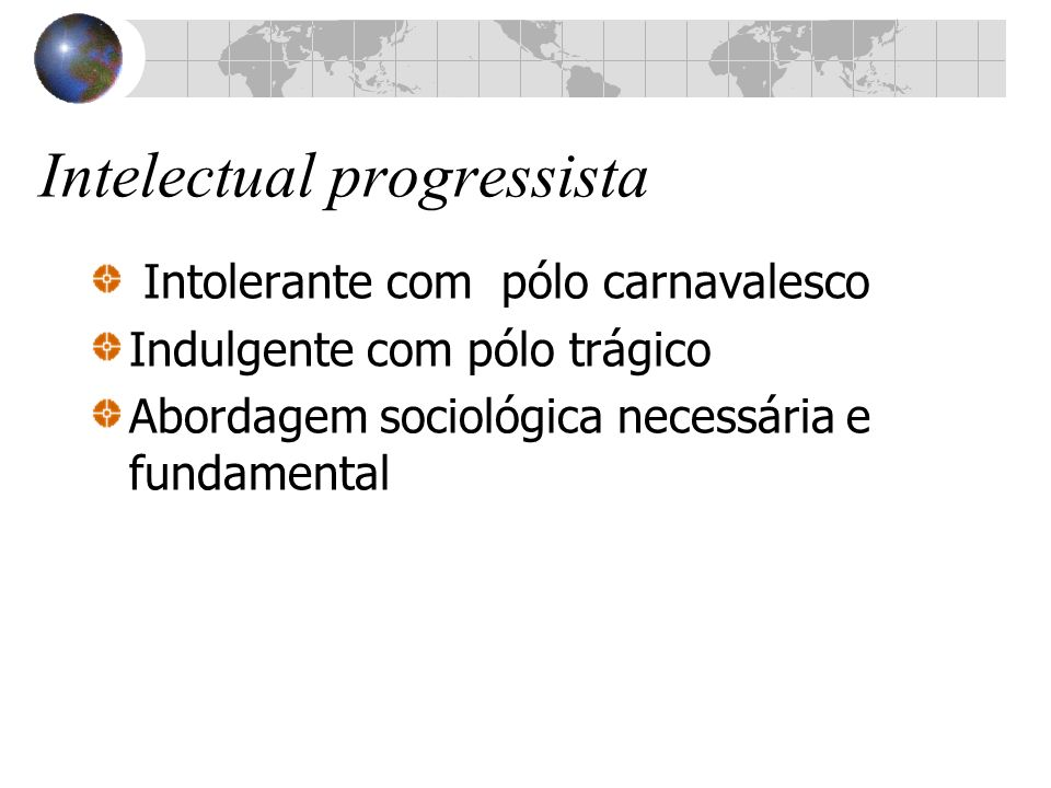Intelectual progressista
