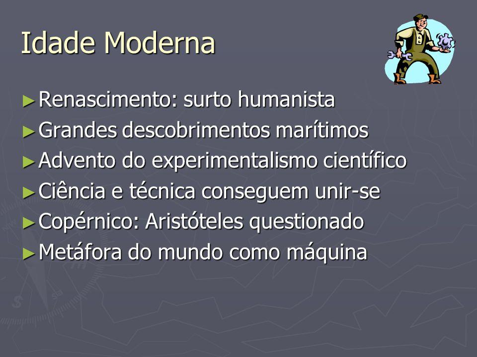 Idade Moderna Renascimento: surto humanista