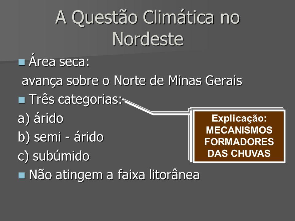 A Questão Climática no Nordeste