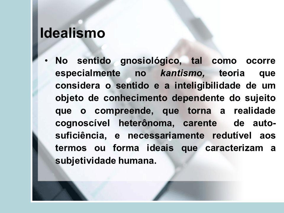 Idealismo