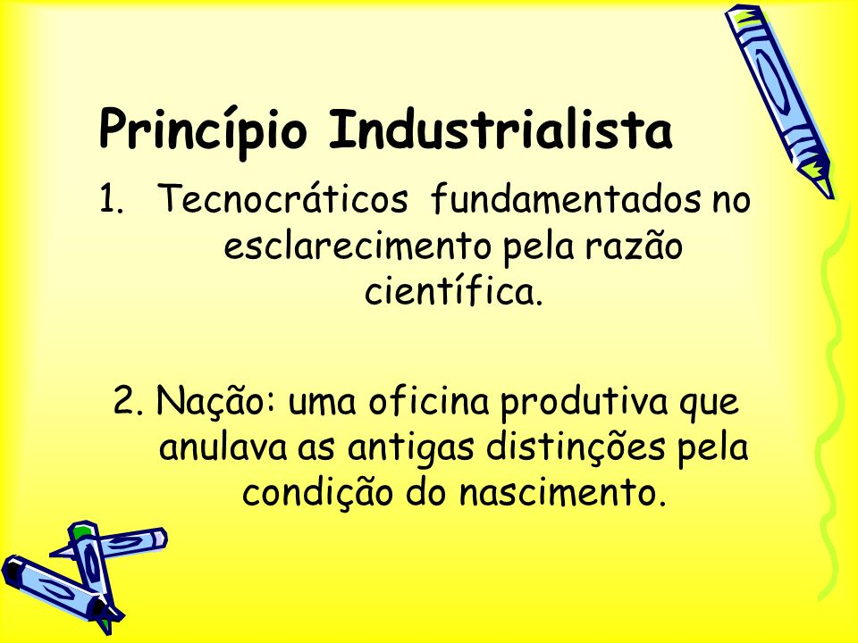 Princípio Industrialista