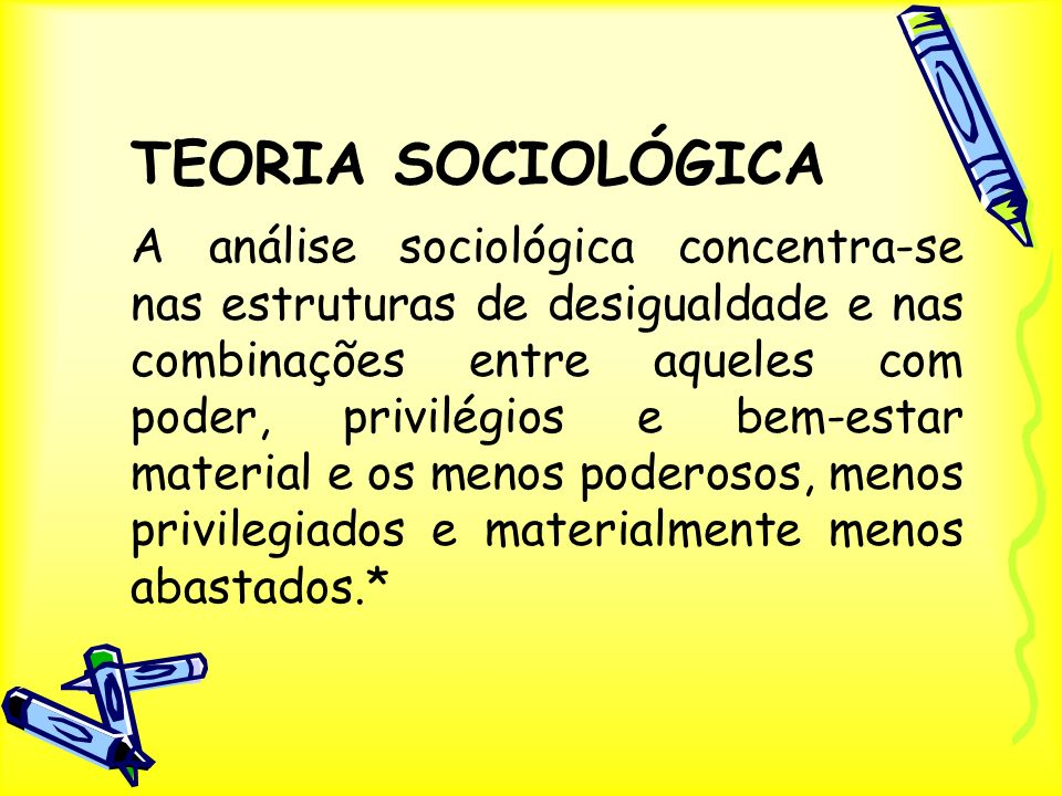 TEORIA SOCIOLÓGICA