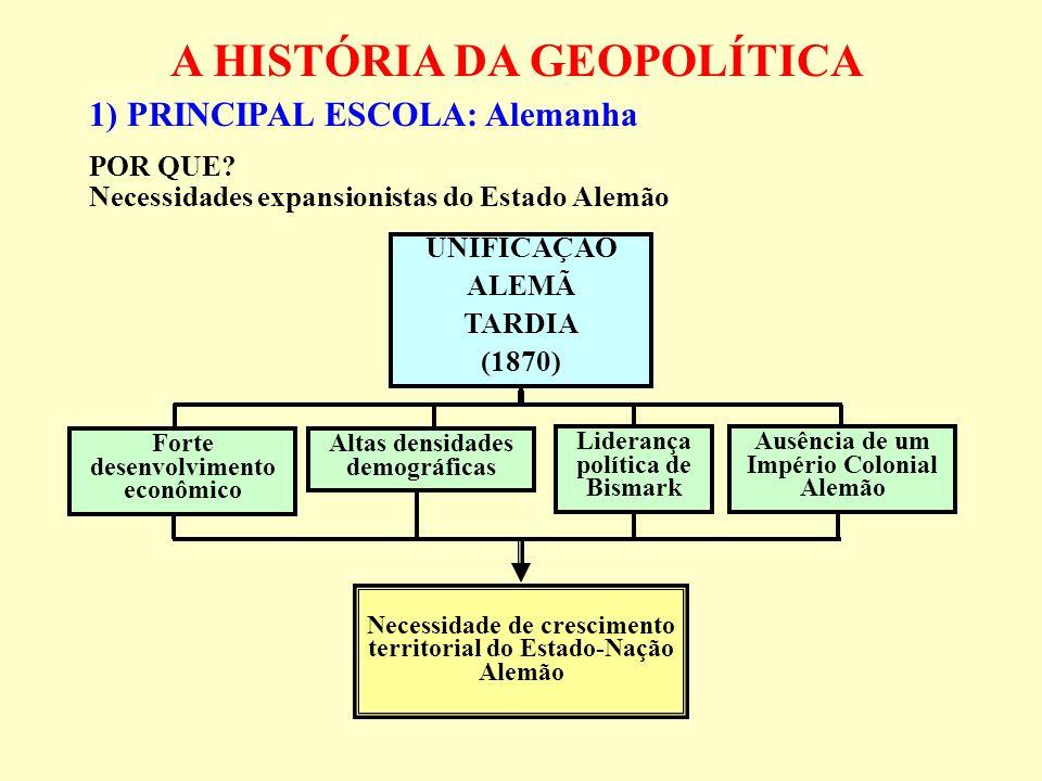 A HISTÓRIA DA GEOPOLÍTICA