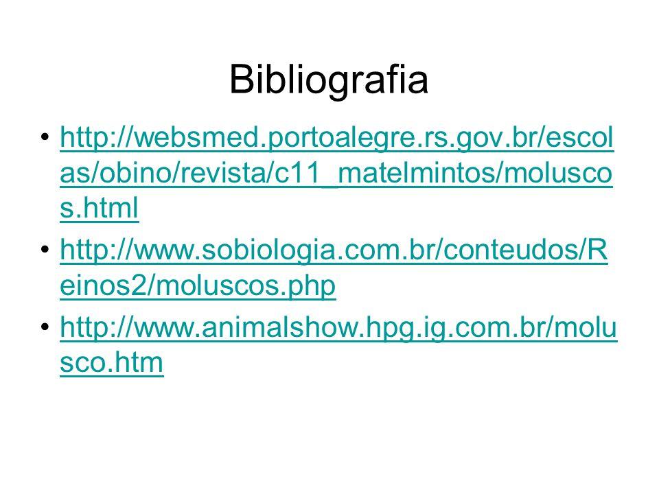 Bibliografia http://websmed.portoalegre.rs.gov.br/escolas/obino/revista/c11_matelmintos/moluscos.html.