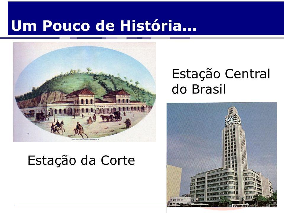 Um Pouco de História... Estação Central do Brasil Estação da Corte