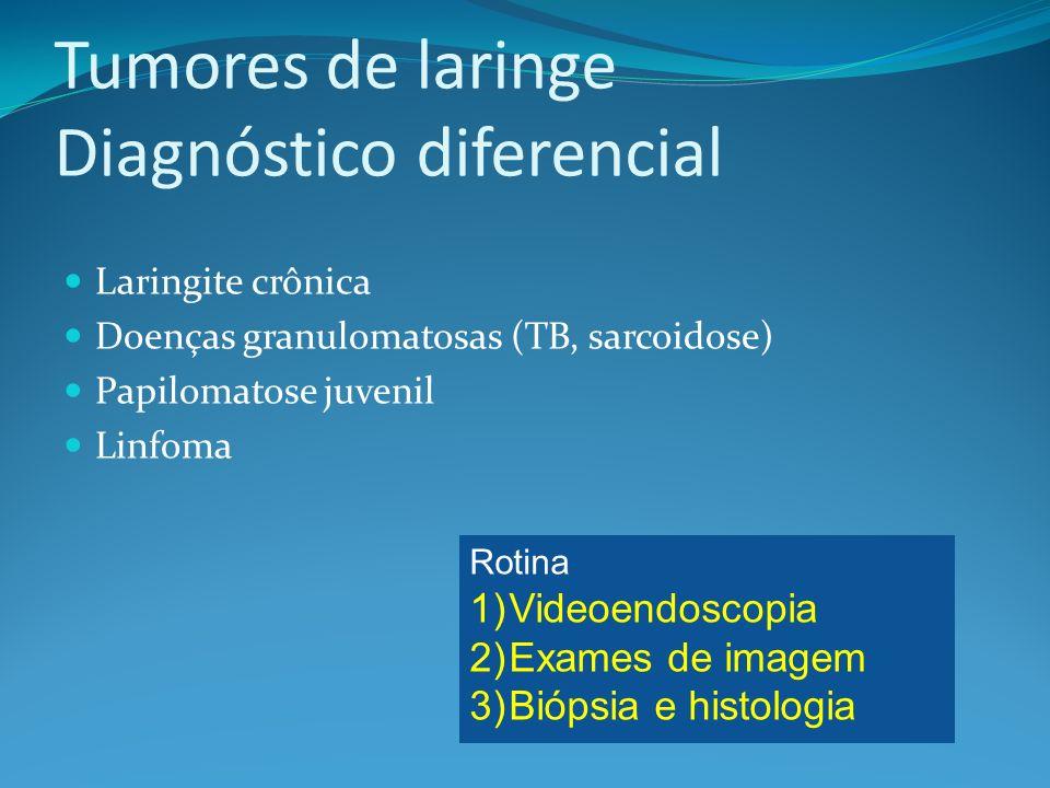 Tumores de laringe Diagnóstico diferencial