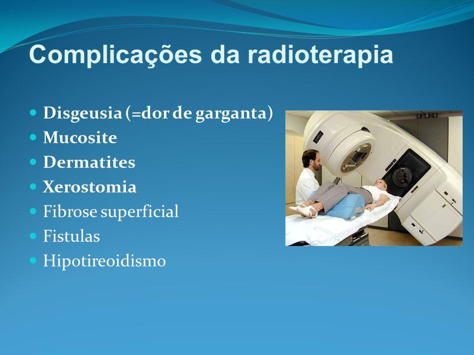 Complicações da radioterapia