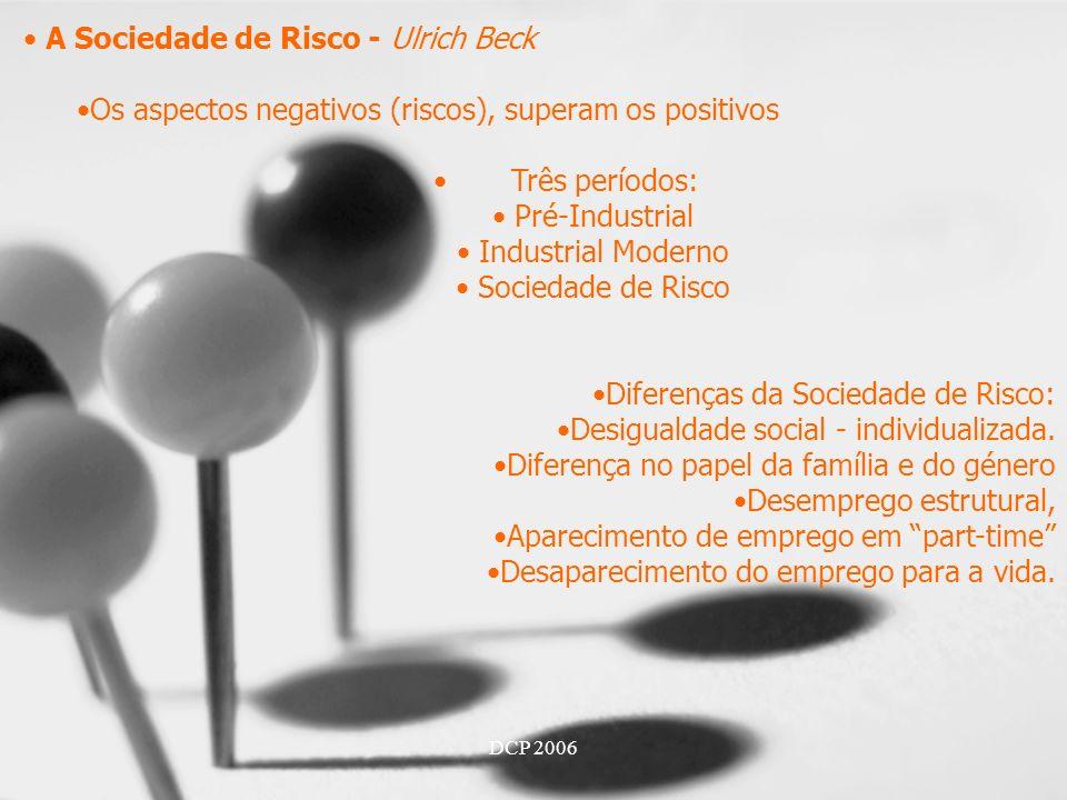 A Sociedade de Risco - Ulrich Beck