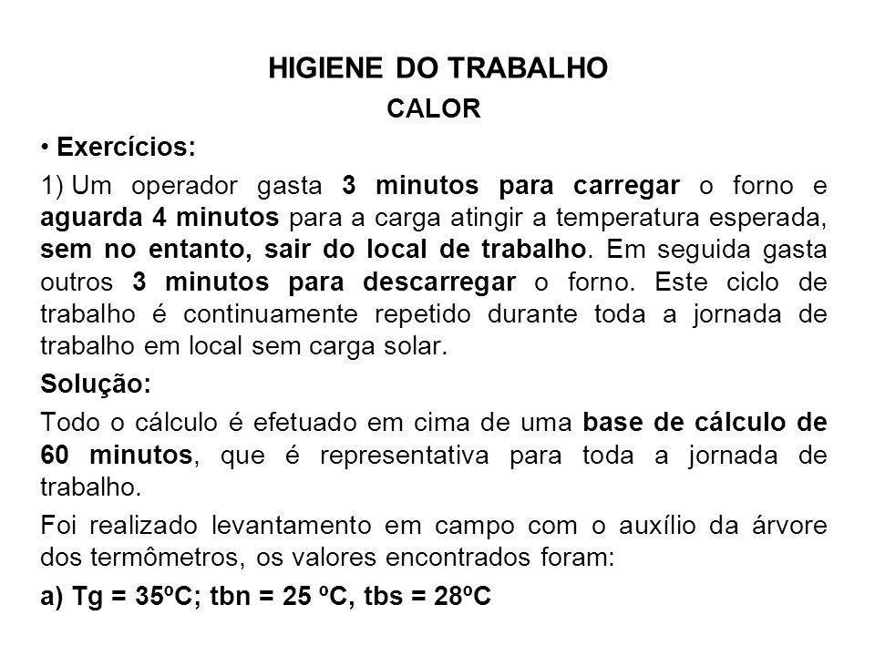 a) Tg = 35ºC; tbn = 25 ºC, tbs = 28ºC
