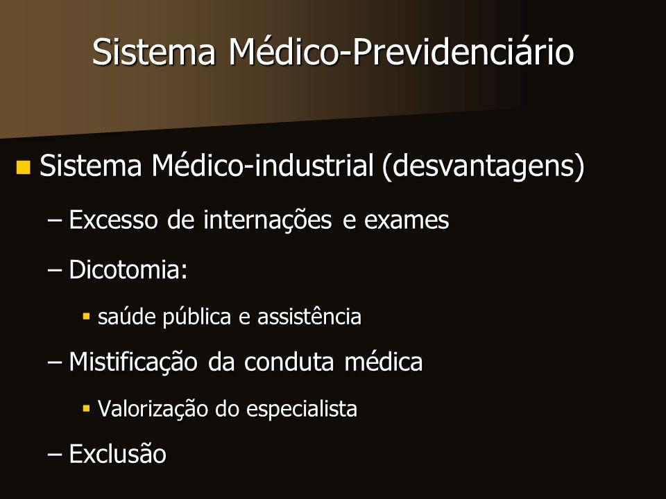 Sistema Médico-Previdenciário