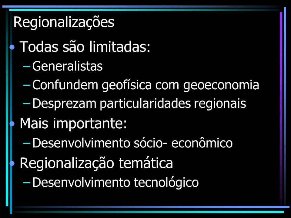 Regionalização temática