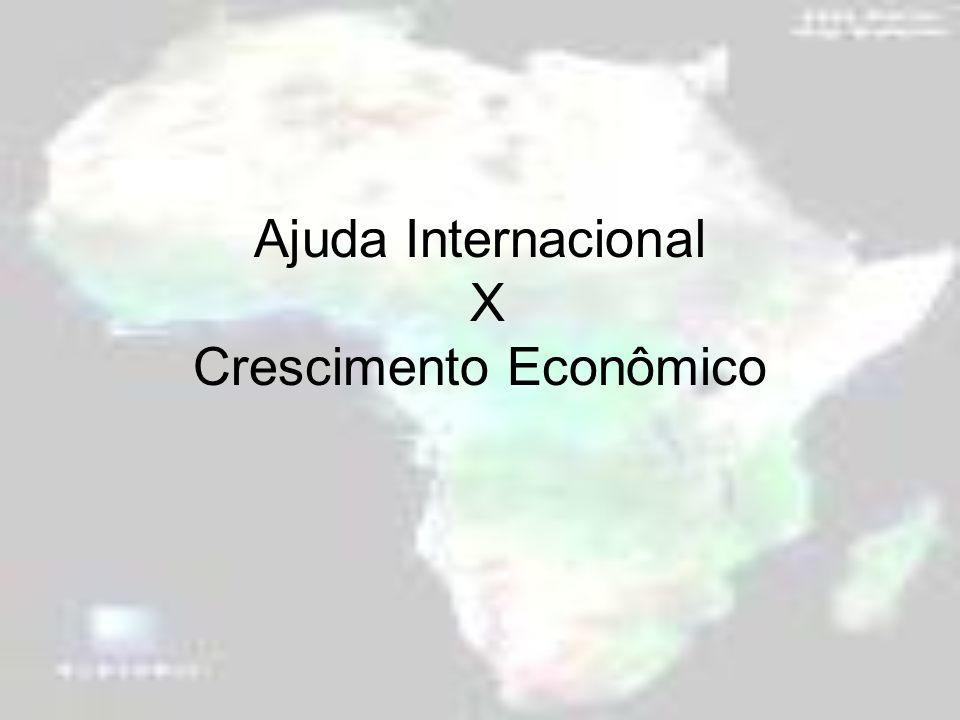 Ajuda Internacional X Crescimento Econômico